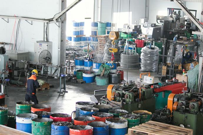 日本工場にも負けない設備が揃ったベトナム工場。